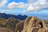 Peak Prateleiras mountain  in Itatiaia National Park,  in Itatiaia National Park,