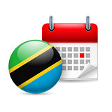 Icon of National Day in Tanzania