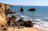 Western Algarve beach scenario, Portugal