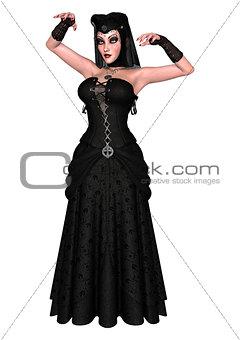 Black Female Wizard