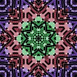 Geometric  pattern in a motley colors
