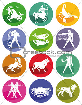 Astrological zodiac signs
