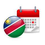 Icon of National Day in Namibia
