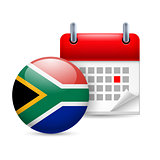 Icon of National Day in South Africa