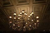 shining chandelier