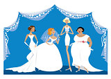 Different brides