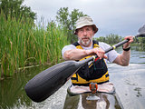 kayak fitness paddling