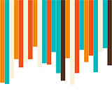 Seamless colorful striped background
