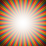 Colorful rays texture background