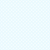 Seamless blue polka dot background