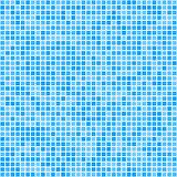 Pixel mosaic blue gradient background