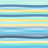 Seamless colorful striped wave background
