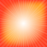 Orange rays texture background