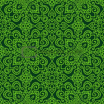 folk seamless pattern