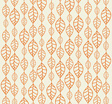 backgrounds with orange autumn leaves.