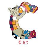 Letter C-cat