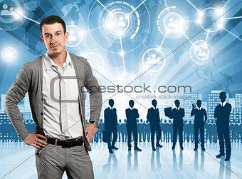 Business Man Employer
