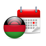 Icon of National Day in Malawi