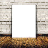 Blank poster as copy space template for your design