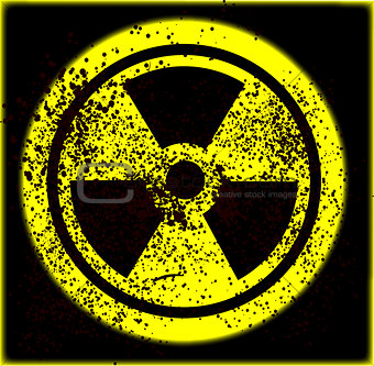 Caution Radioactive
