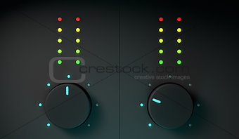 3d dj mixer equipment