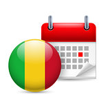Icon of National Day in Mali