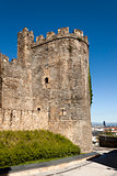 Ponferrada templar castle tower.