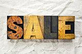 Sale Letterpress