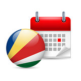 Icon of National Day in Seychelles