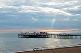 Brighton Pier and Sunbeams
