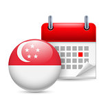 Icon of National Day in Singapore