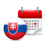Icon of National Day in Slovakia