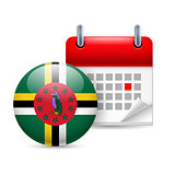 Icon of National Day in Dominica