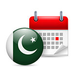Icon of National Day in Pakistan
