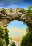 Arch Rock Natural Stone Formation