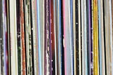 Collection of Old Vinyl Albums