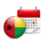 Icon of National Day in Guinea-Bissau