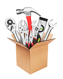 Many Tools in box
