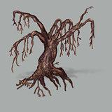 Big dead tree