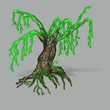Spring fantasy tree