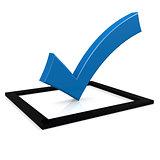 Blue tick