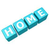 Home blue puzzle