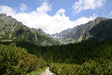 High Tatras path
