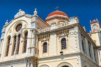 Cathedral of Saint Minas in Heraklion, Crete