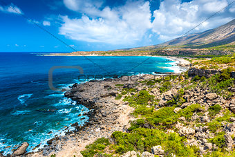 Beautiful Shore Of Crete, Greece