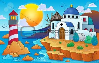 Greek theme image 7