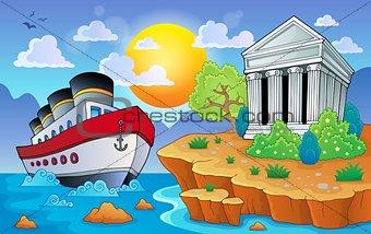 Greek theme image 9