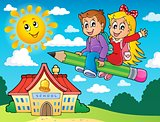 School kids theme image 5