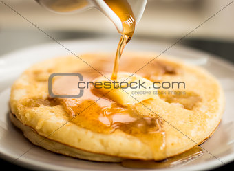 Apple Pie Pancake.