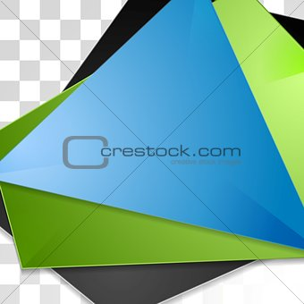 Abstract tech corporate vector background